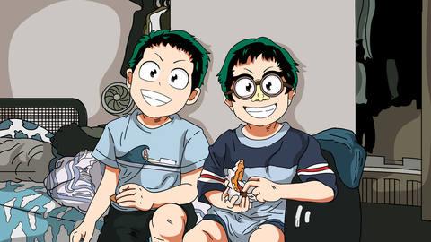 anime cartoon style
