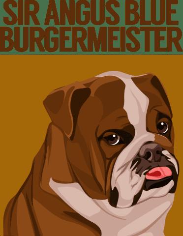 dog cartoon shirt design