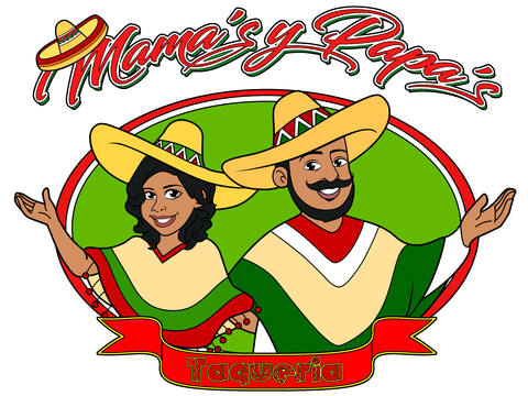Mexican Cartoon Logo